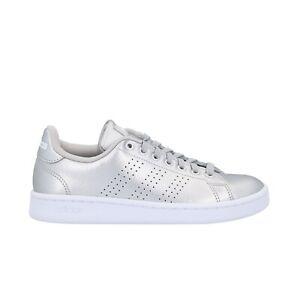 Dettagli su ADIDAS NEO ADVANTAGE sneakers silver scarpe Cloudfoam donna  mod. EE8197