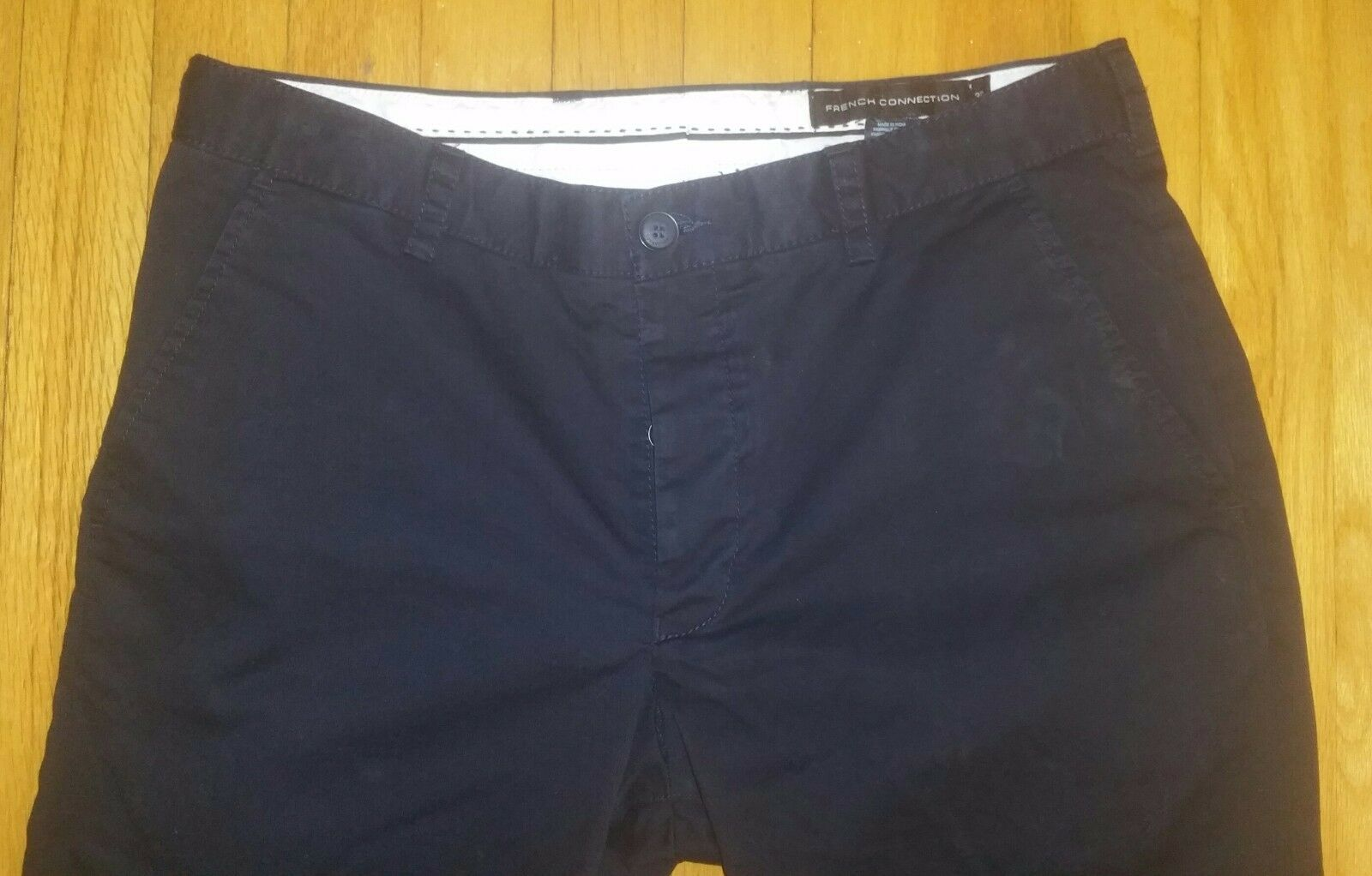 New French Connection Men Navy bluee  Pants Dress  Casual Size 32