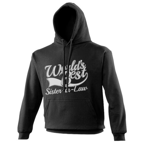 World/'s Best Sister In Law Gift Adults Mens Ladies Womens Unisex Hoodie