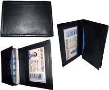 Lot Of 3 New Leather Business Card Case Credit Card Holder Fifty Card Case With Id