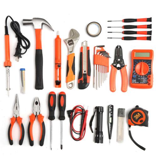 35Pcs Multifuntional Tools Kit Set Steel Household Electrician Kits Hardware