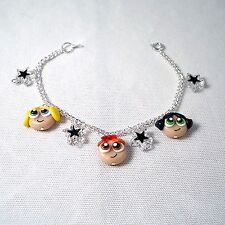 powerpuff girls bracelet 90s tv emo retro cute