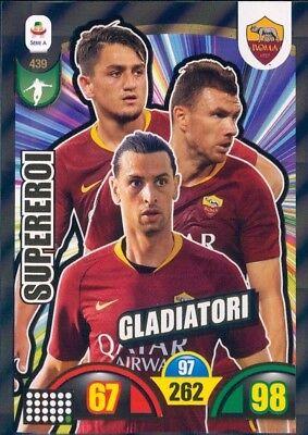 PANINI ADRENALYN XL 2018-19 2018 2019 CARD CARDS SUPEREROI CALCIATORI SBUSTATE