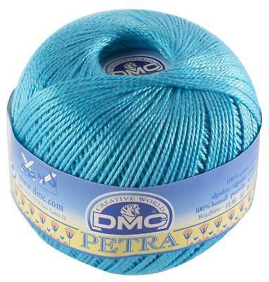 Colour: 54458 Size 3-100g DMC Petra Crochet Thread Cotton