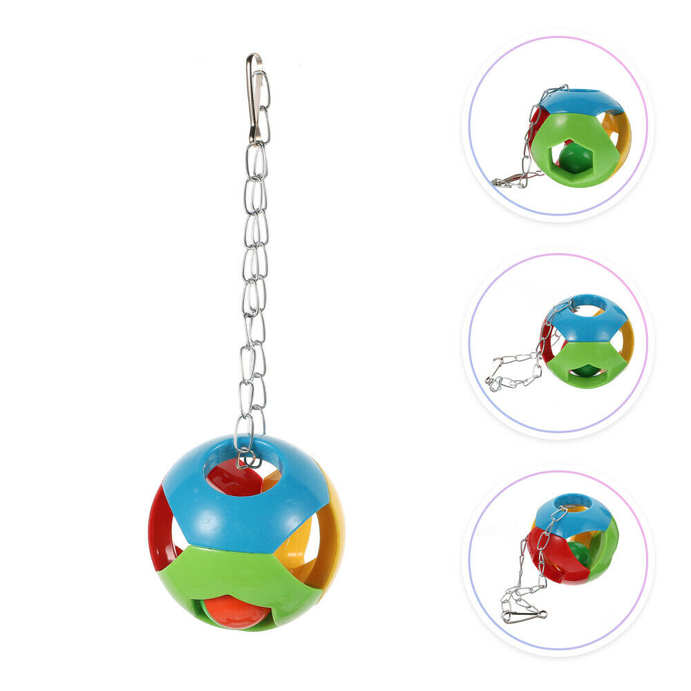 1Pc Parrot Toy Fine Durable Novel Bird Grinding Pendant Plaything Cage Toy