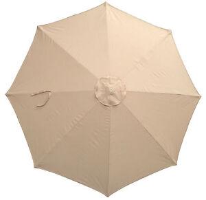 canopy only for 3m parasol umbrella 8 spoke water resistant argos ebay. Black Bedroom Furniture Sets. Home Design Ideas