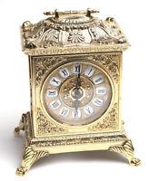 Kaminuhr & Tischuhr Messing Gold Barock Antik