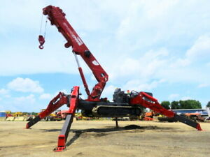 2018 UNIC URW706 SPYDERCRANE 13,330 LB Spider Crane 81' Atrium Boom bidadoo -New