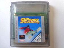 GameBoy Color Spiel - Supreme Snowboarding (Modul)