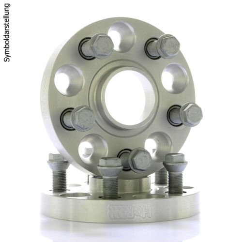 H/&R DRA Spurplatten Spurverbreiterung Distanzscheibe Ø71,6 5x130 56mm //// 2x28mm