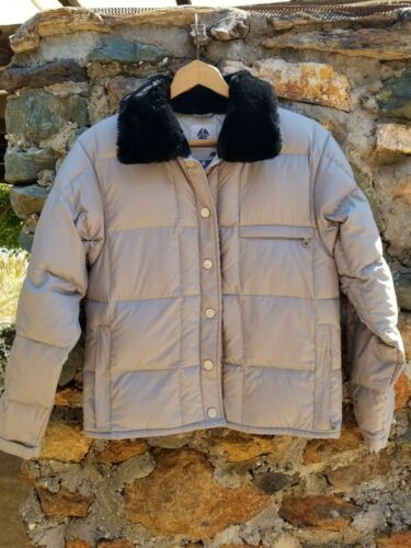 in Jacket Colletto Womens S Snowboard pelliccia Front Light Grigio Coat Weight Burton wzxnIx8