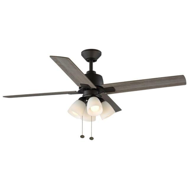 Indoor Oil Rubbed Bronze Ceiling Fan