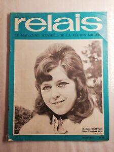 N30-Relais-region-Miniere-mars-1971-n-25-D-CHRETIEN-Miss-Flandre-1970-CDF-Chim