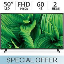 """VIZIO 50"""" inch 1080p FULL HD LED / LCD FHD TV 60Hz with 2 HDMI D50N-E1"""