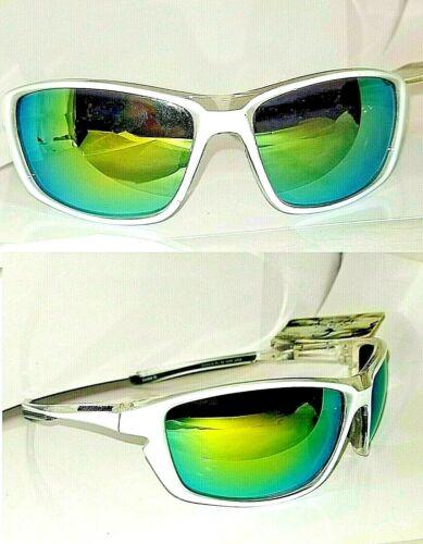 Lot of 4 Panama Jack Island White Wrap Way Style Sunglasses Gold RV Mirror Lens