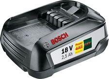 Bosch Akku, 18-Volt-Lithium-Ionen PBA 18 V 2,5 Ah W-B, System-Zubehör