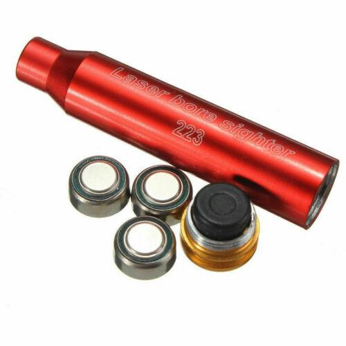 Red Laser 223REM Bore Sighter Sight Cartridge 5.56 Dot Boresighter F Hunting US