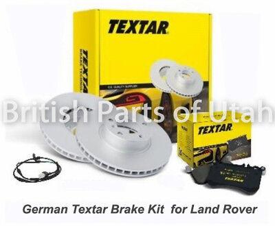 Range Rover Sport Front Brake Kit with Standard Rotors /& Textar Brake Pads