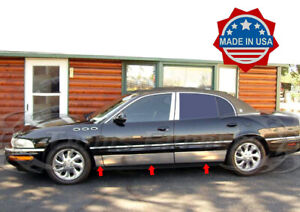 1997-2005-Buick-Park-Avenue-Rocker-Panel-Body-Trim-Molding-Stainless
