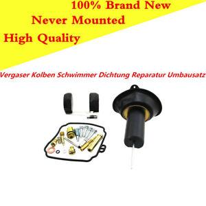 Vergaser-Kolben-Schwimmerdichtung-Reparatur-Umbausatz-Set-Fuer-Yamaha-Virago250