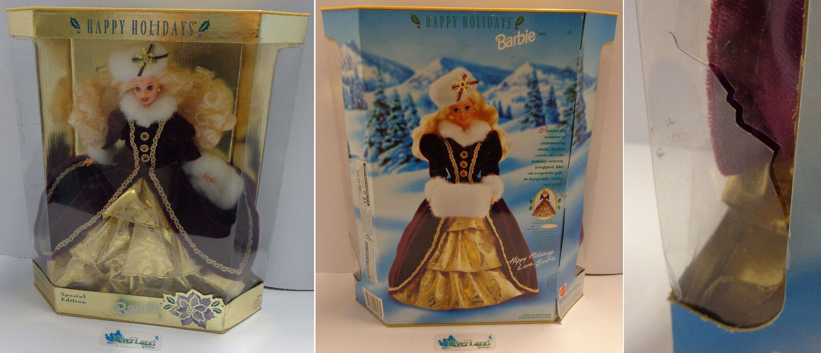 Mattel Bambola Collezione Collection Special Edition Natale Happy Holidays 1996