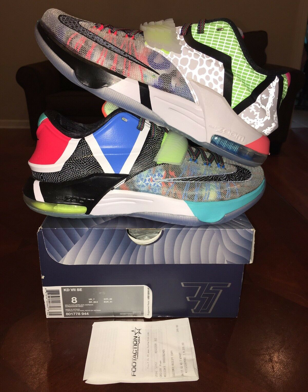 Nike What The Kd 7 Wtkd 8 Vii Wtk Jordan Yeezy Lebron Wtk Vii 1 2 3 4 5 6 9 10 Boost Lot 52613e