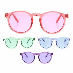 573559cb1b Image is loading Hippie-Pop-Color-Horned-Keyhole-Plastic-Retro-Sunglasses