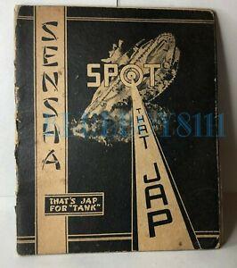 WW2-Australian-Army-Spot-That-Japanese-Tank-Booklet-Sensha-original