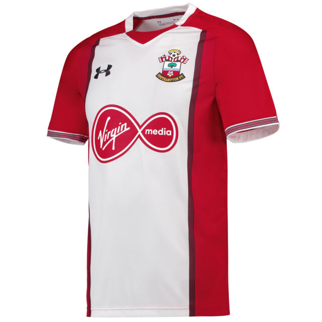 100% authentic db05e e8cb4 Official Southampton Football Home Jersey Shirt Tee Top 2017/18 Men Under  Armour