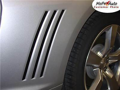 Gill Stripes Vinyl Side Quarter Vent Inserts Decals Graphics SS 2010-2013 Camaro