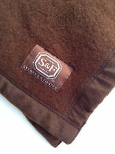 Cashmere Baby Blanket Brown Stearns & Foster