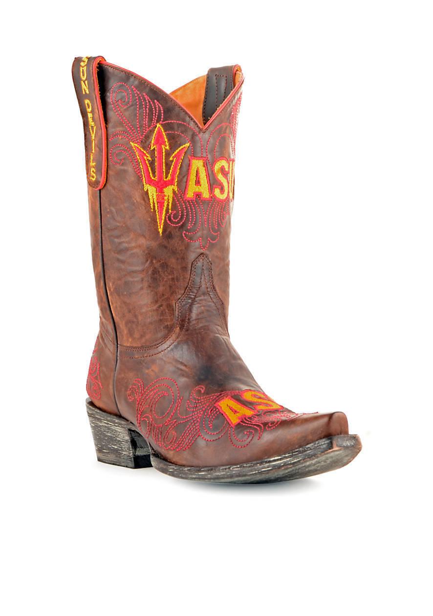 Nuevas botas para mujer GAMEDAY Universidad Estatal de Arizona Mid bota