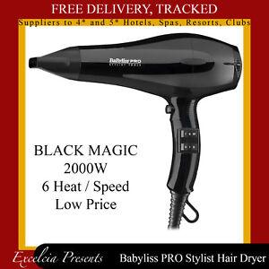 Hair Dryer Babyliss Pro Black Magic For