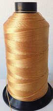 Gold Bonded Nylon SEWING Thread #207 T210 Upholstery bag shoe leather 1000 yds