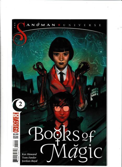 Books of Magic #2 NM- 9.2 DC/Vertigo Comics Neil Gaiman Sandman Universe