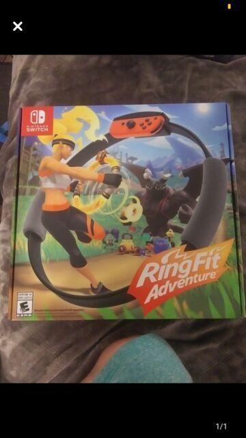 Ring Fit Adventure (Nintendo Switch, 2019) **Brand Spankin' New!**