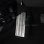 Stainless Steel Foot Rest Brake Pedal Kit Frame Trim For Honda CRV 2017-18 k
