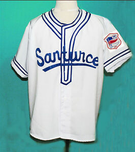 buy online 0ee1a 1c15f Details about ROBERTO CLEMENTE #21 SANTURCE BASEBALL JERSEY 1954 PUERTO  RICO NEW SEWN ANY SIZE