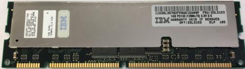 1GB IBM eServer xSeries 130 135 220 330 Memory PC133 ECC Registered DIMM 33L3152