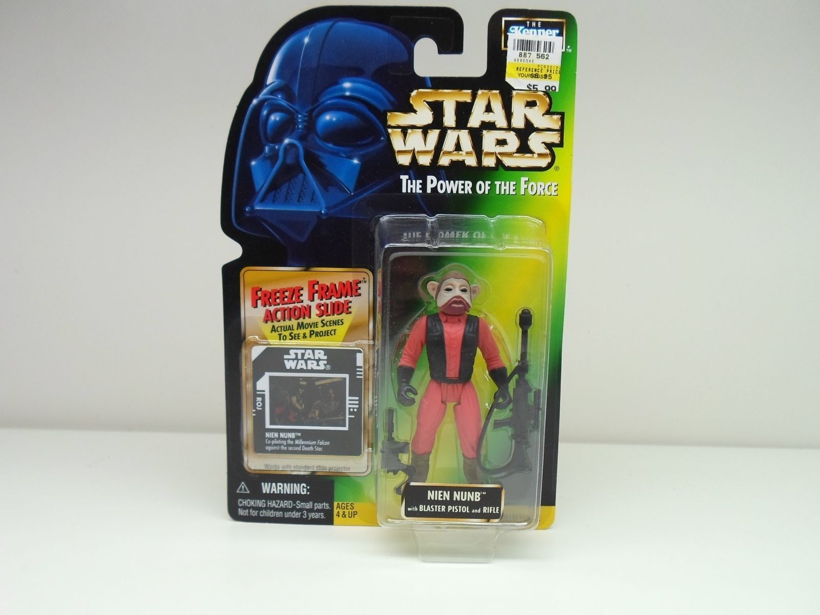 Star Wars Kenner Power of the Force Action Freeze Frame 1997 1998 Action Force Figures Sealed 140088