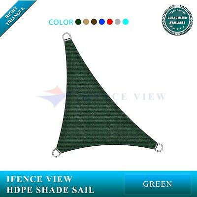 Ifenceview Beige Square 16/' Sun Shade Sail Pool Canopy Awning Outdoor Commercial