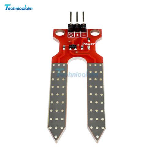 Soil Humidity Hygrometer Sensor Module Moisture Detection for Arduino AVR