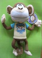 Bobby Jack Plush 12 Funky Monkey Doll Kelly Toys