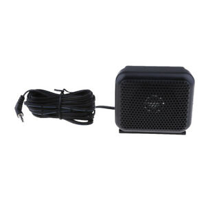 3-5mm-Car-Radio-External-Speaker-for-Yaesu-Icom-Kenwood-Radio