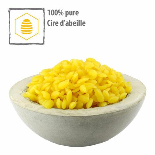 Cire Abeille Bio 100% Pure Qualité Médicale Cosmétique Norme Europharm 500 g