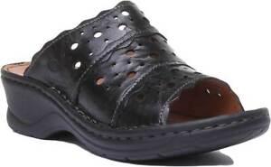 Femme Tailles Sandales Cuir Noir Mat 8 43 Catalonia Seibel En Blanc 3 Josef Et Pour 7q184twg