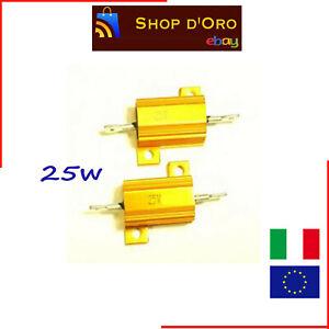 Resistenza Alloggio in alluminio 10W 4.7 OHM