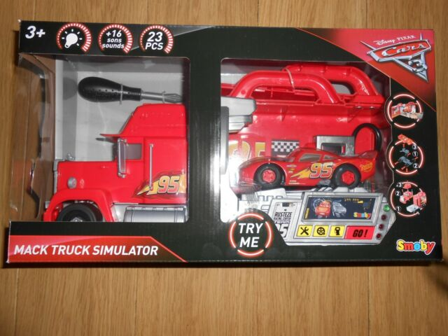 Disney Cars 3 Mack Truck Simulateur MADE BY Smoby NEUF