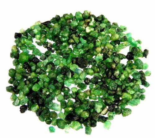100/%Natural Tiny Small Green Emerald Rough Wholesale Lot Loose Gemstone