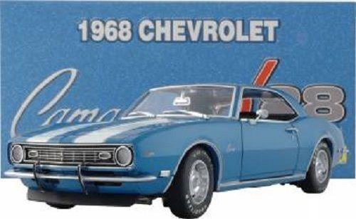 Rare Lane Exact Detail 1 18 1968 Chevrolet Camaro Z 28 - Lemans bluee -1 1500